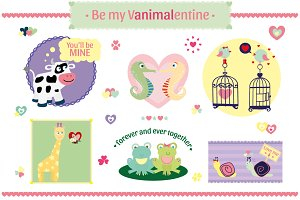 Vanimalentines - Set Animals in love