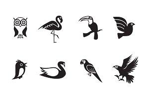 8 Bird Icons