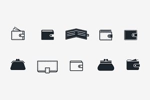 10 Wallet Icons