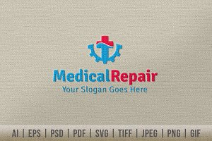Medical Repair Logo