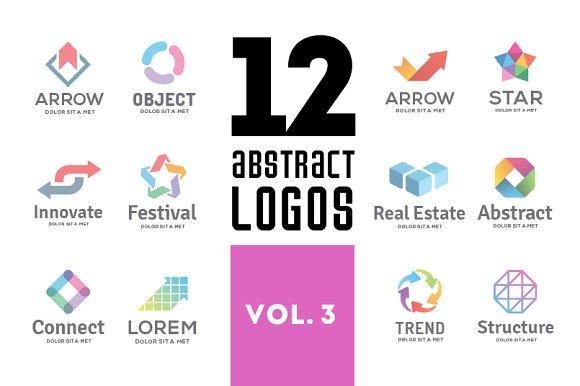 Set of abstract logos vol. 3 - Logos