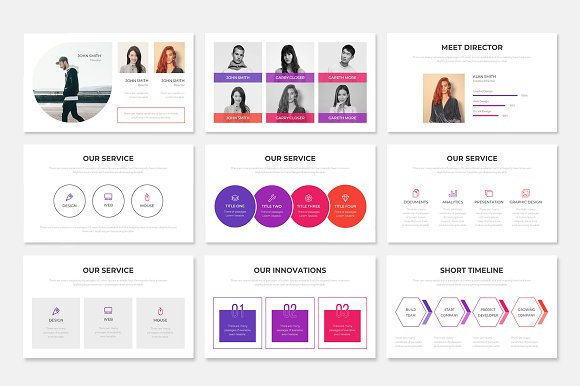 Project Proposal PowerPoint Template in PowerPoint Templates - product preview 2