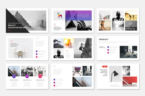 Project Proposal PowerPoint Template in PowerPoint Templates - product preview 4