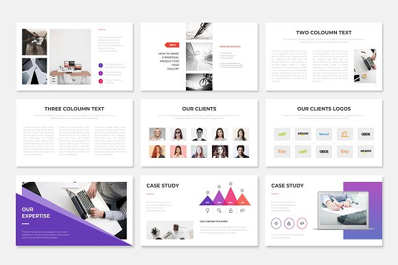 Project Proposal PowerPoint Template in PowerPoint Templates - product preview 5