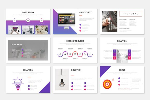 Project Proposal PowerPoint Template in PowerPoint Templates - product preview 6