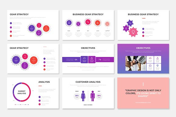 Project Proposal PowerPoint Template in PowerPoint Templates - product preview 7