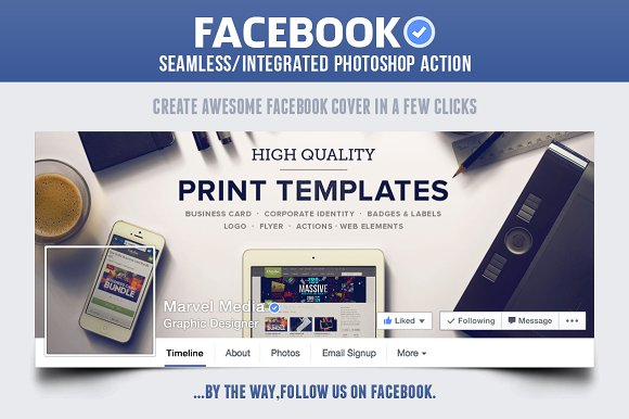 Facebook seamless cover action actions creative market facebook seamless cover action actions pronofoot35fo Gallery