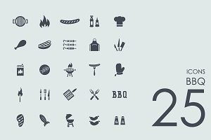 25 Barbecue icons