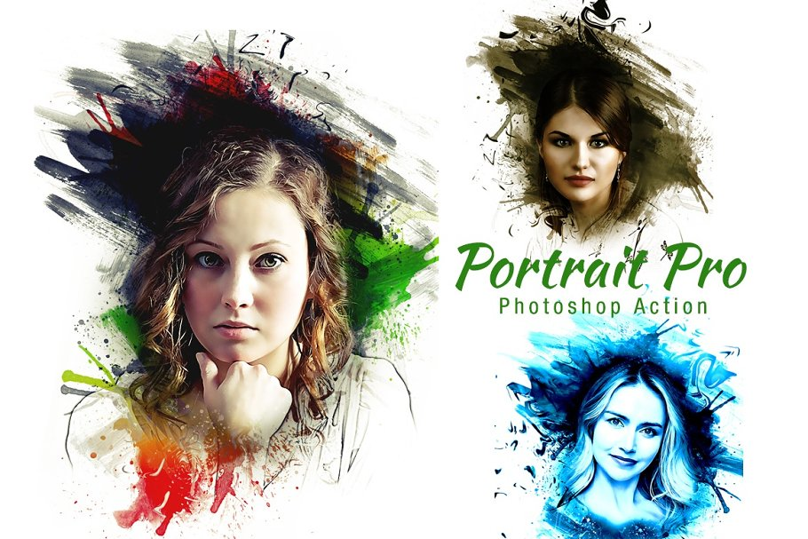 Portrait Pro Photoshop Action