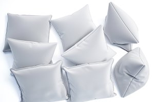 3d model set of cushions