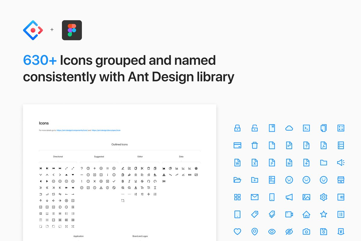 Ant Design System for Figma in Website Templates - product preview 3