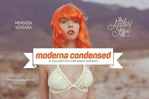 Moderna Condensed