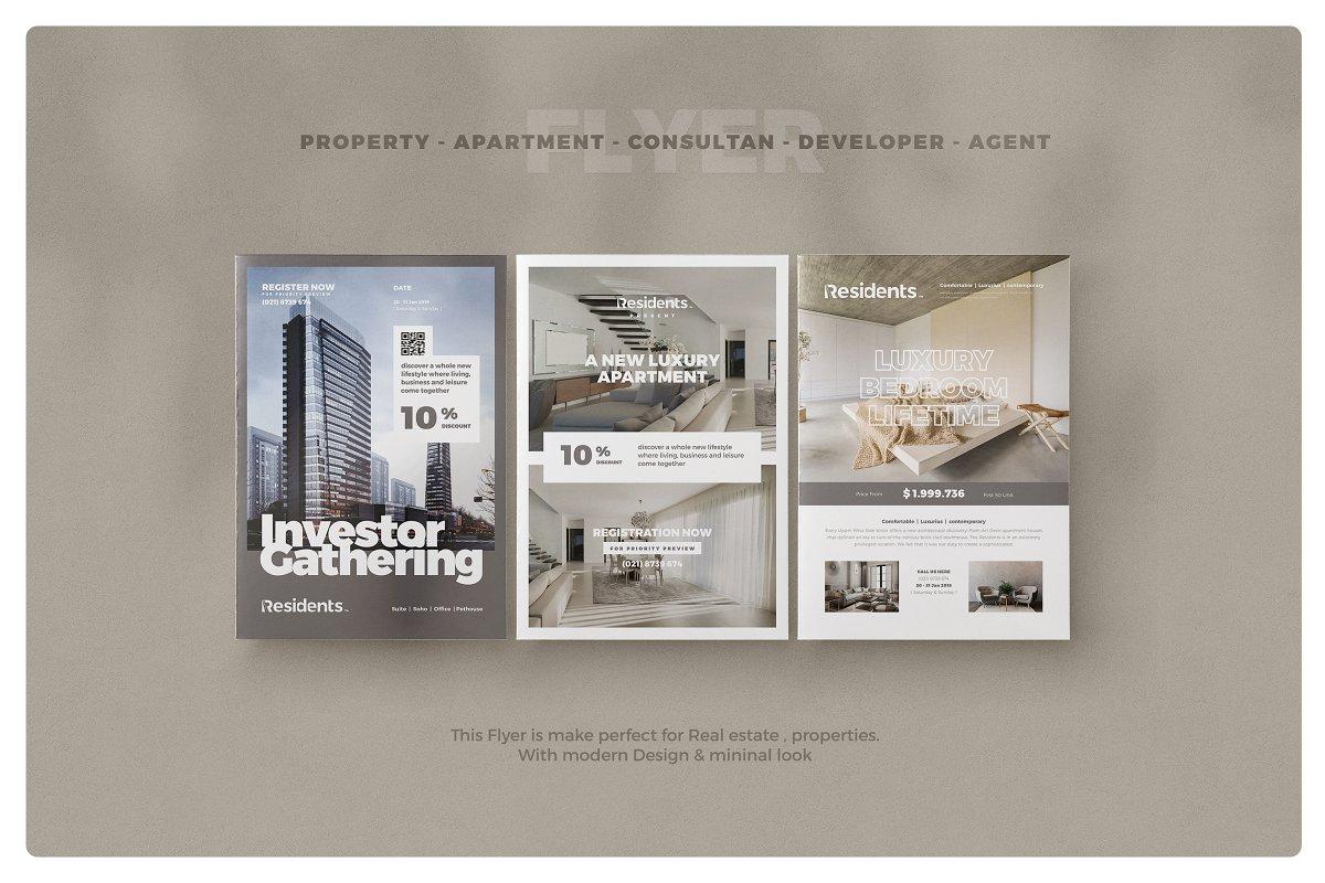 Property / Apartment Flyer