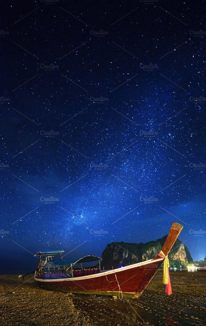 Night tropical landscape. Thailand - Nature