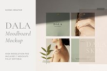 Dala - Moodboard Scene Creator by  in Mockups