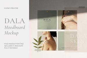 Dala - Moodboard Scene Creator