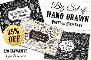770 elements - Big Vintage Bundle