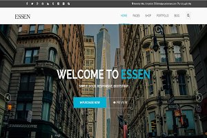 ESSEN - Responsive Website Template