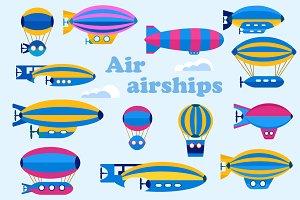 Set  airship