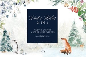 Winter Atelier 2 in 1 Collection