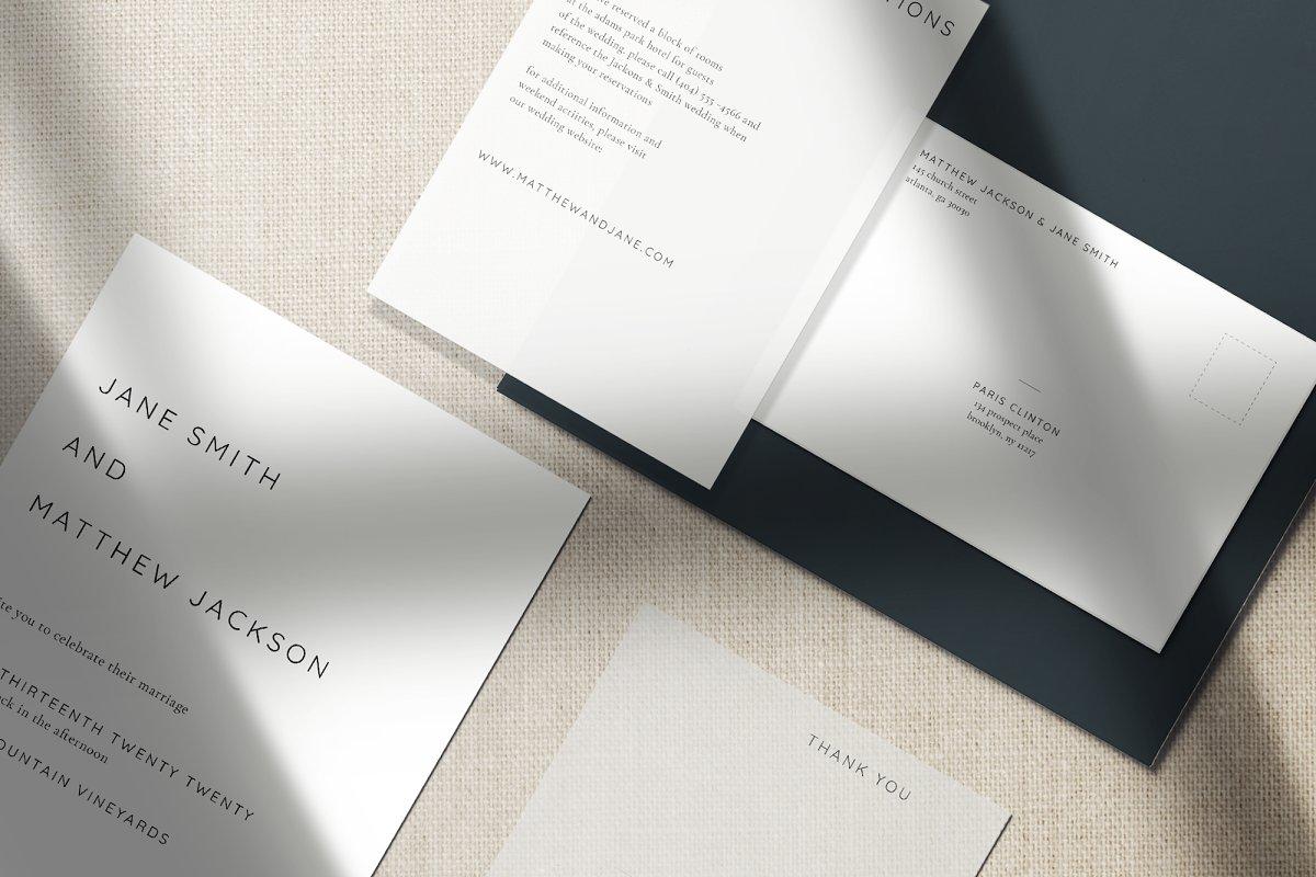 Modest Wedding Invitation Template | Creative Wedding Templates ...