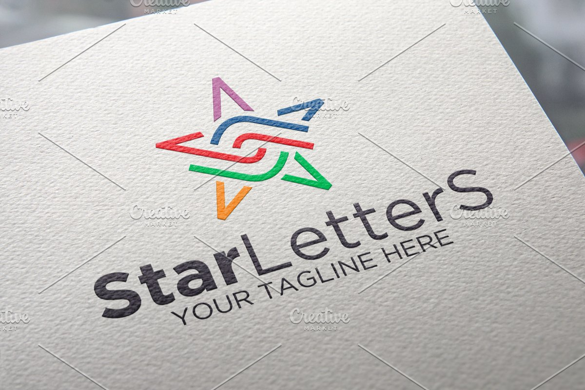 Stars Letter Logo
