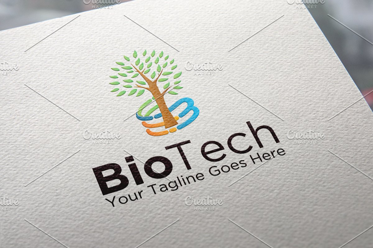 Bio Technology Logo