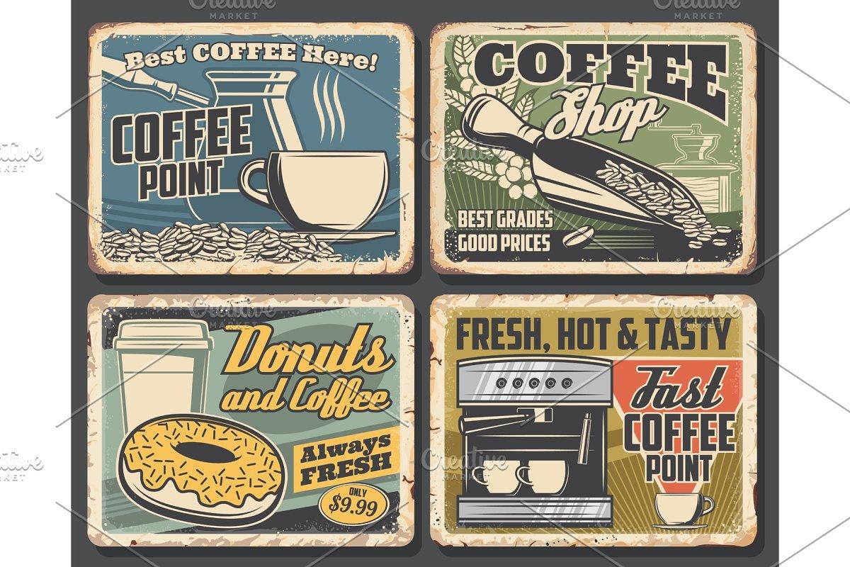 Coffee drink cup, espresso machine