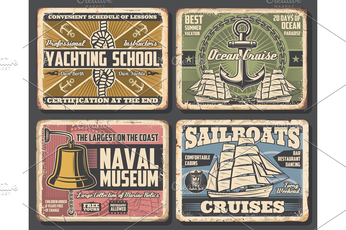 Nautical and marine banners