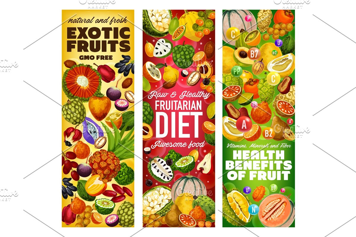 Vitamins in exotic fruits