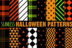 Halloween Repeating Patterns