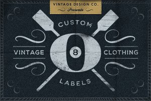 Custom Vintage Clothing Labels