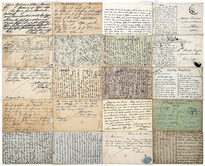 vintage letters postcards photographs - photo #5
