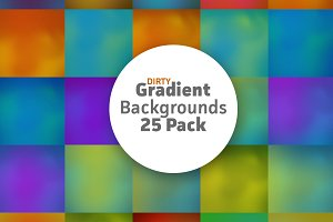 Dirty Gradient Background 25 Pack