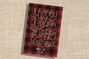 Christmas/ New Years Greetings Card