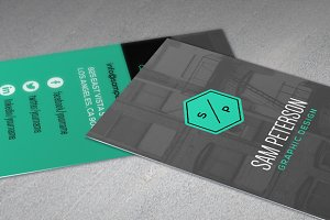 Building Business Card Template