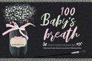 100 Babys Breath Design Kit