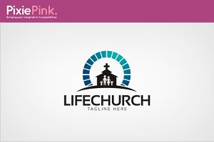 Life Church Logo Template