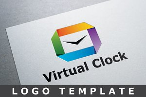 Virtual Clock Logo