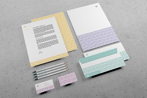 Branding Stationery PSD mock-up