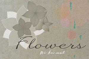 ❁✿Bouquet Floral vector✿❁