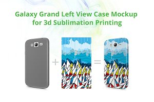 Galaxy Grand 3d Case Design Mock-up