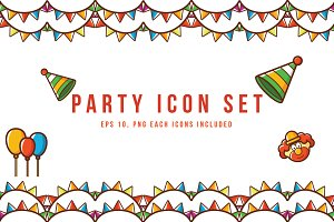 Party Vector Icons