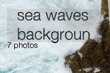 beating the rock sea wave. extreme s