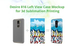 LG G2 3d Case Design Mock-up