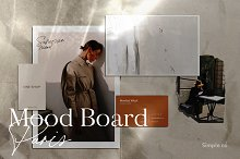 Mood Board Paris / Mockup by  in Mockups