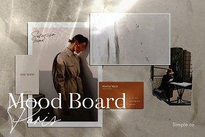 Mood Board Paris / Mockup