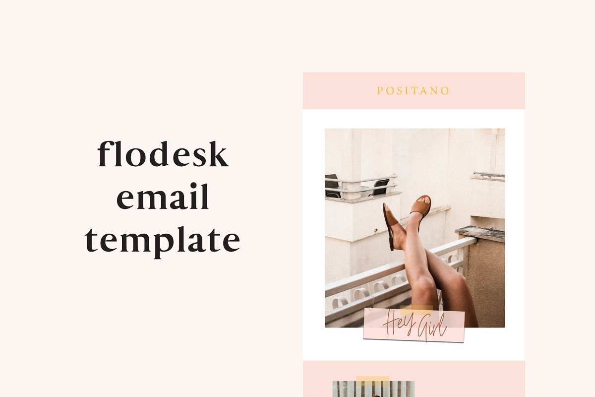 Positano Flodesk Email Template
