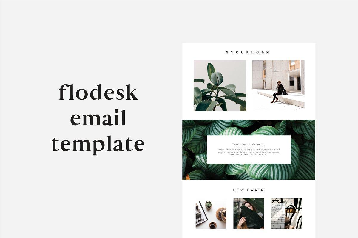 Stockholm Flodesk Email Template