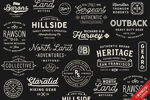 Hanley Font Collection in Script Fonts - product preview 30